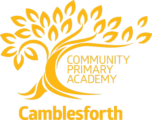 Camblesforth School logo Gold