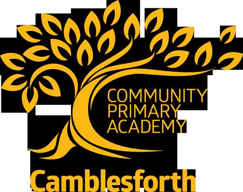 Camblesforth School logo Gold